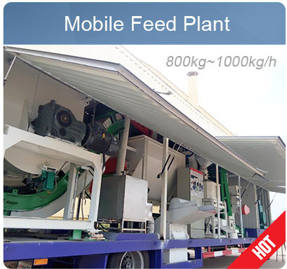 Mini Cattle Feed Plant In Mobile Trailer Low Cost Plan