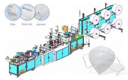 Fully Automatic N95 Mask Production Machine