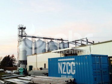 1000 Tons Wheat Silo Project in New Zealand
