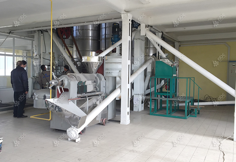 peanut oil mill plant setup