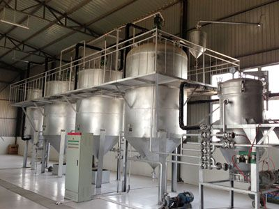10TPD Oil Refining Equipment