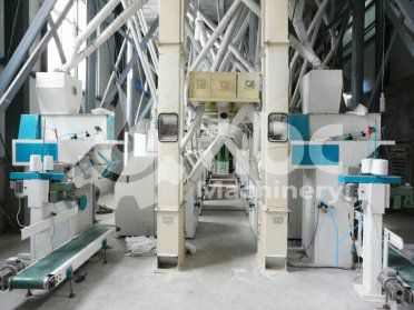120TPD Automatic Wheat Flour Mill Project Constructed in India