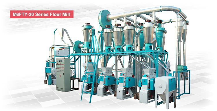 small wheat flour milling machinery for sale at factory low price
