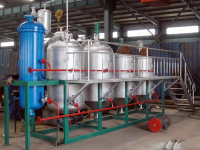 2TPD Small Canola Oil Refinery Equipment