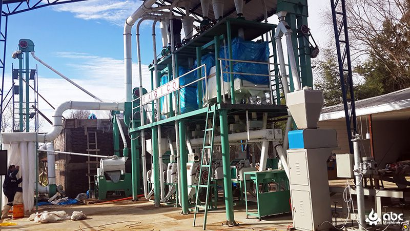 30tpd wheat milling machine for sale at factory price