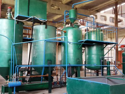 5TPD Sunflower Oil Refining in Uzbekistan