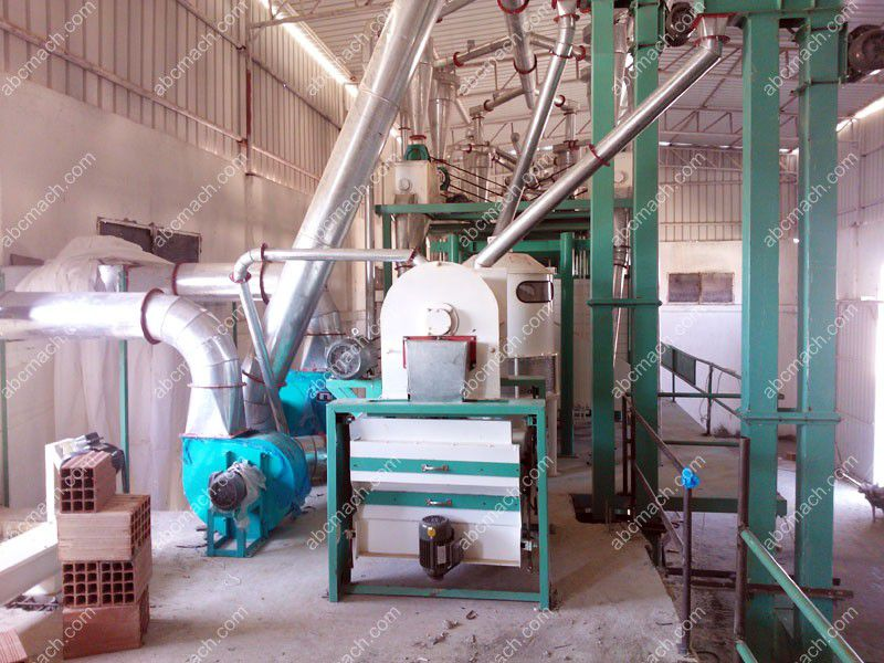 Flour Mill Project in Algeria