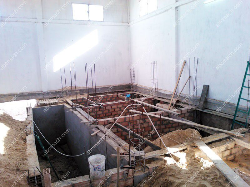 flour milling factory installing
