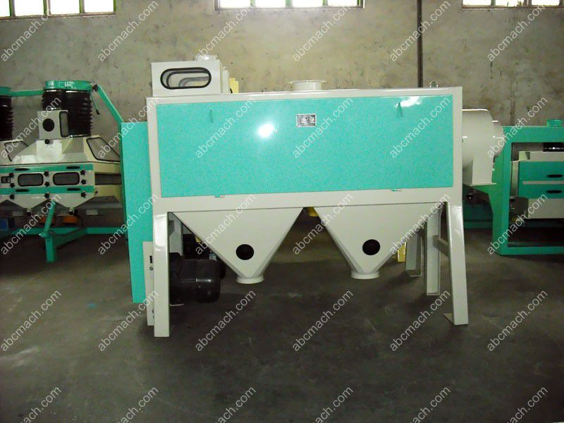 scourer for wheat milling
