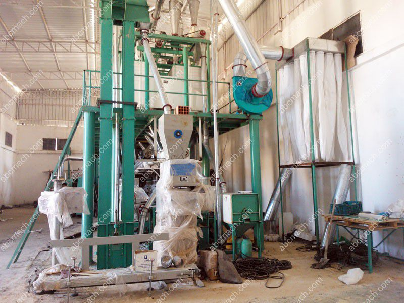 Wheat flour milling project