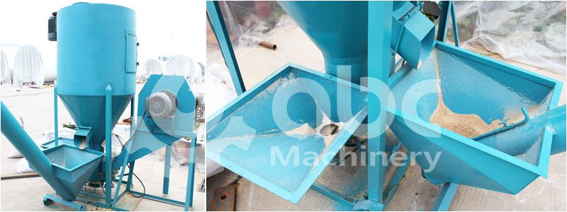 animal feed crushing plant, small capacity, low cost