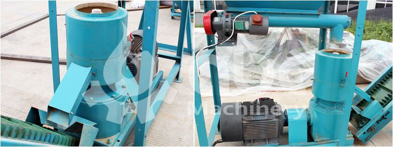animal feed pellet mill machine for making poultry, cattle, livestock fodder