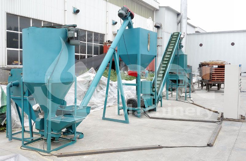 animal feed pellet mill plan designed by reliable manufacturer in China