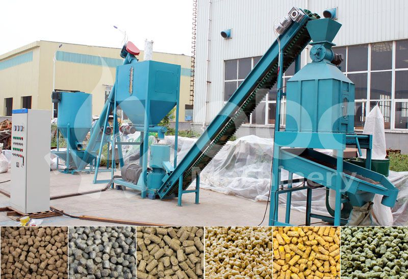 animall feed pellet mill manufacturer offered mini feed mill plant