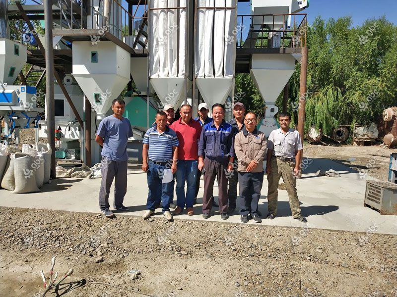 animal feed processing experts and clients