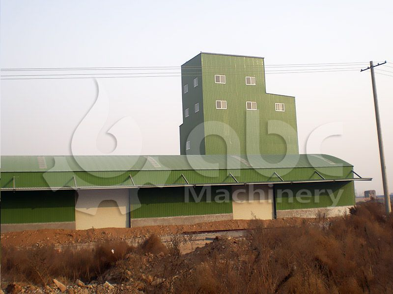 animal feed processing factory for manufacturing livestock and  poultry food