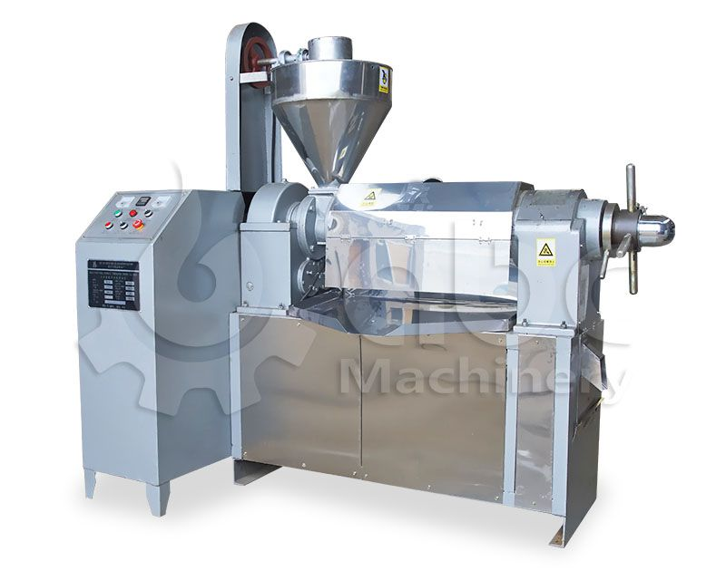 auto temperature mustard oil expeller press machine