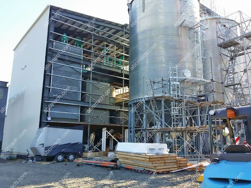 160 ton wheat flour mill plant factory design and construction