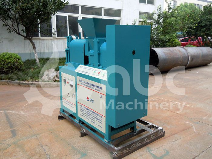 briquette machine for producing charcoal from biomass wastes