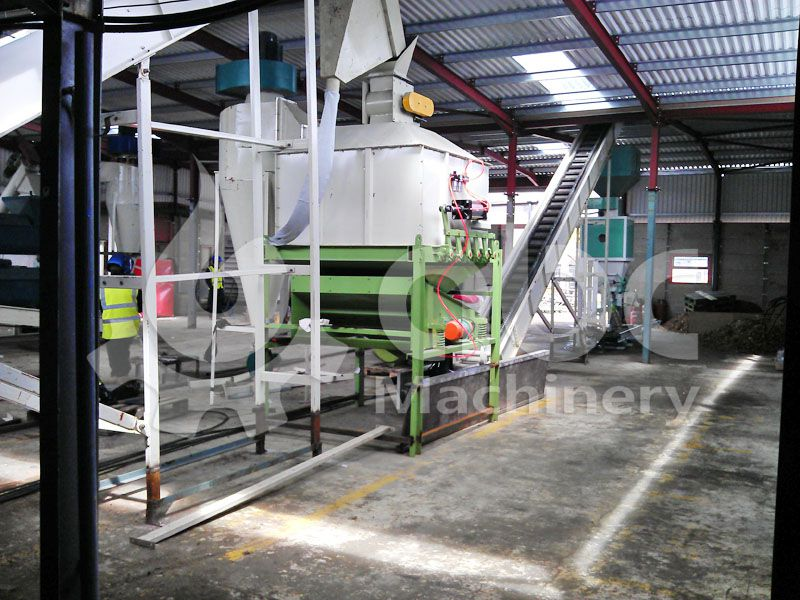 biomass pellet cooling equipment included in the production line