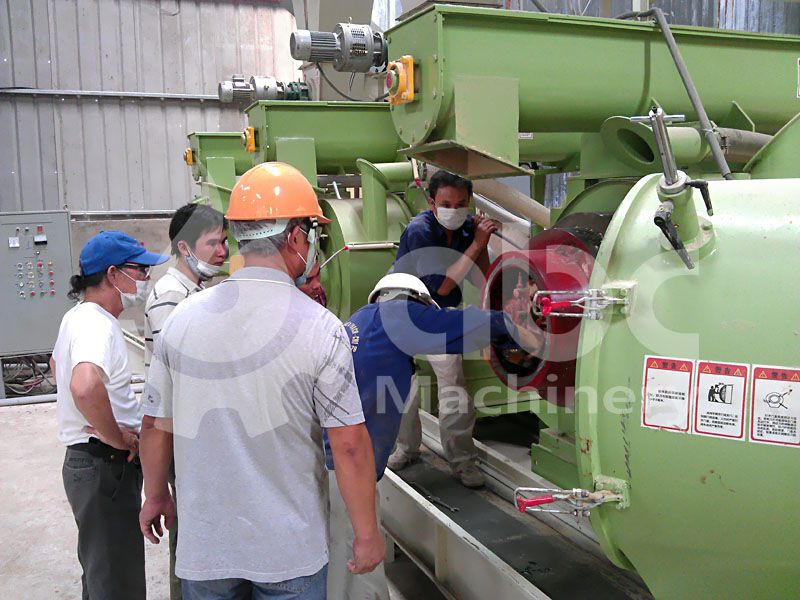 biomass pellet making machine for industrial scale biofuel production