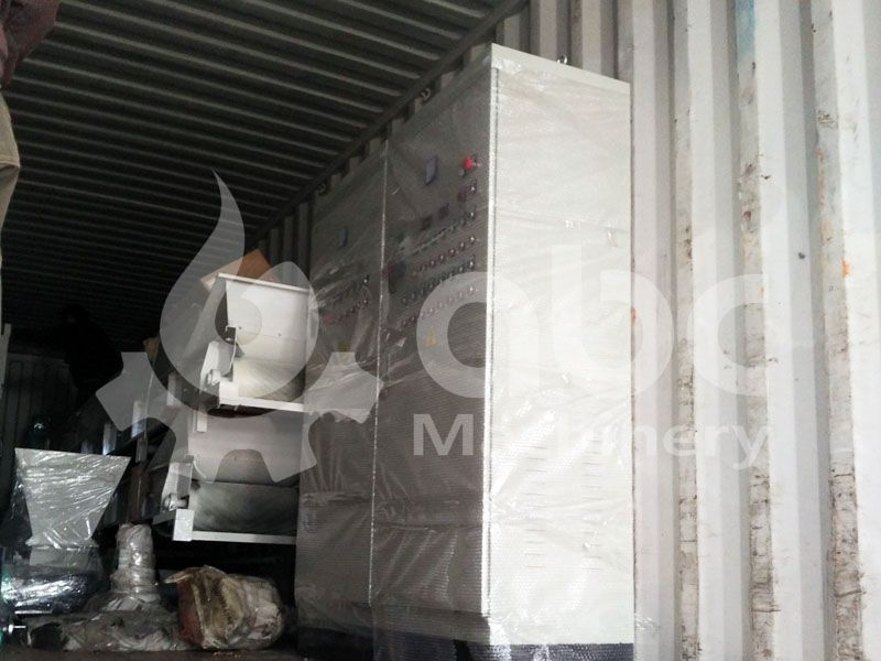 equipment of large scale pellet manufacturing project