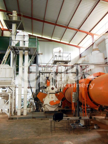 small to mediun scale biomass pellet production plant low cost