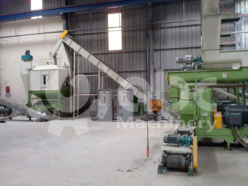 biomass pellets manufacturing project for saw dust and wood wastes