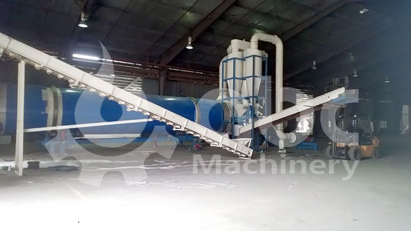 biomass pretreatment equipment for pellets production plant