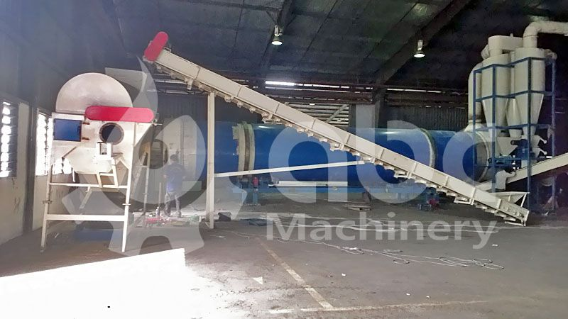 biomass pretreatment machine for pellets making production