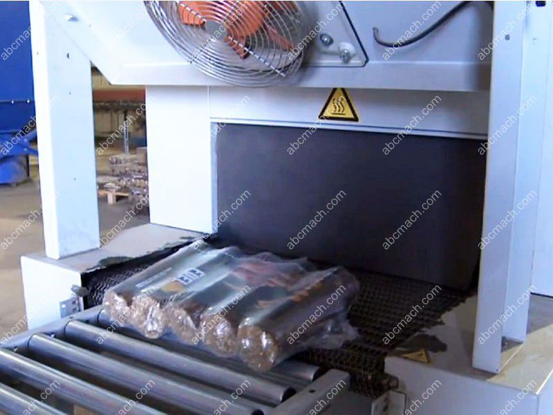briquettes shrink packaging machine
