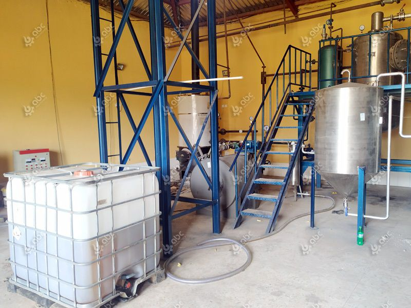 canola oil refining machine at factory price