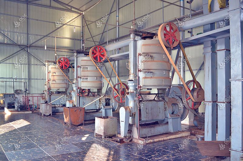 castor oil extraction plant