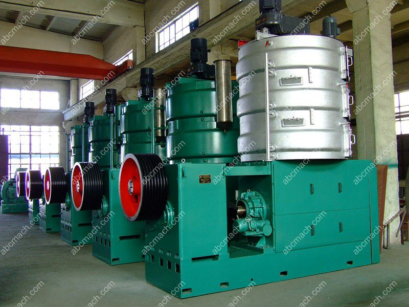 castor oil mill machine