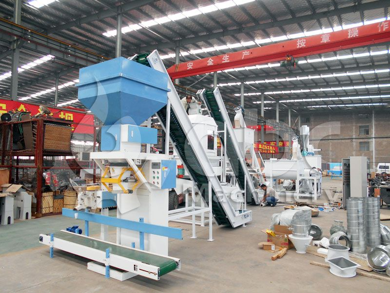 cheap cattle feed processing machine line for sale