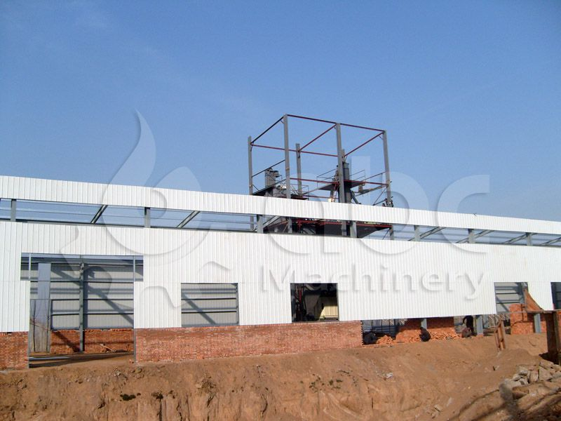 chicken feed mill plant for processing roughage and concentrate