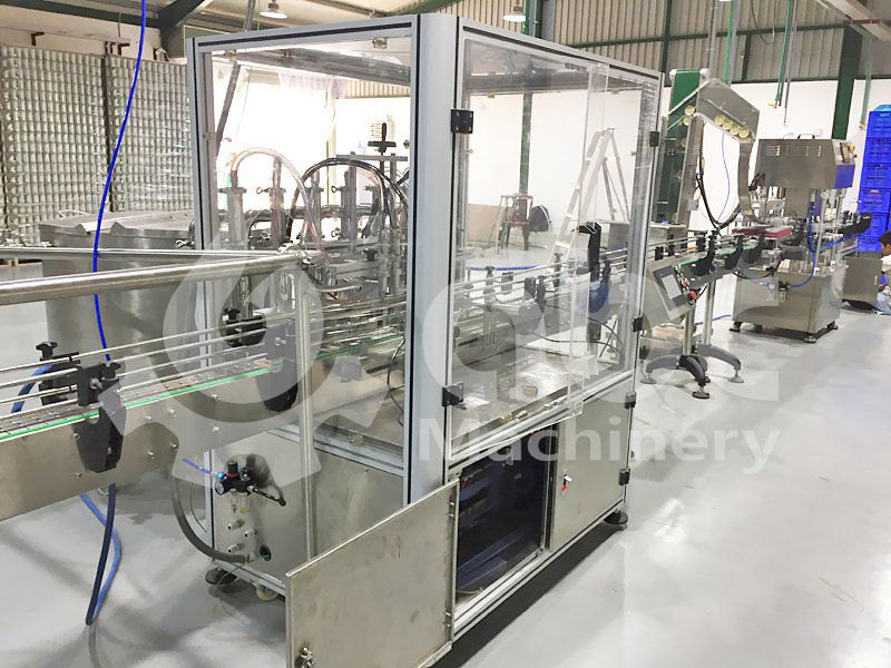 coconut oil filling machine for complete plant