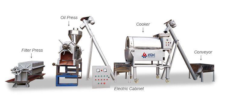 coconut oil processing machines for sale