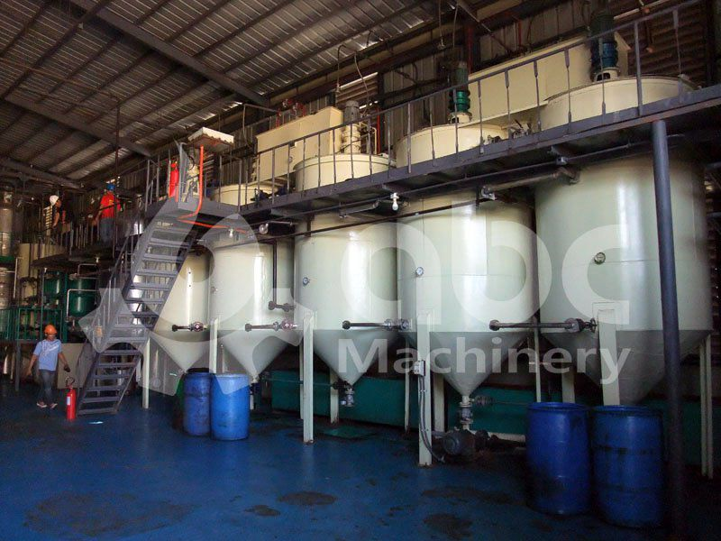 coconut oil refining machine set