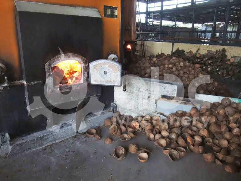 ccoconut shells biomass boiler