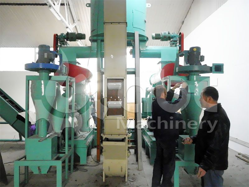 complete wood pellet production plant for sale at low price