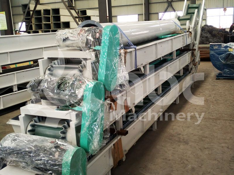 conveyors of this pellet plant
