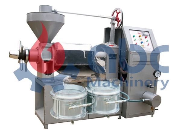 YZS-120A integrated oil press machine for cooking oil