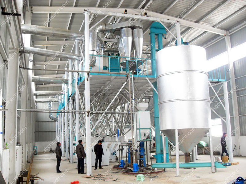 corn flour grits production line