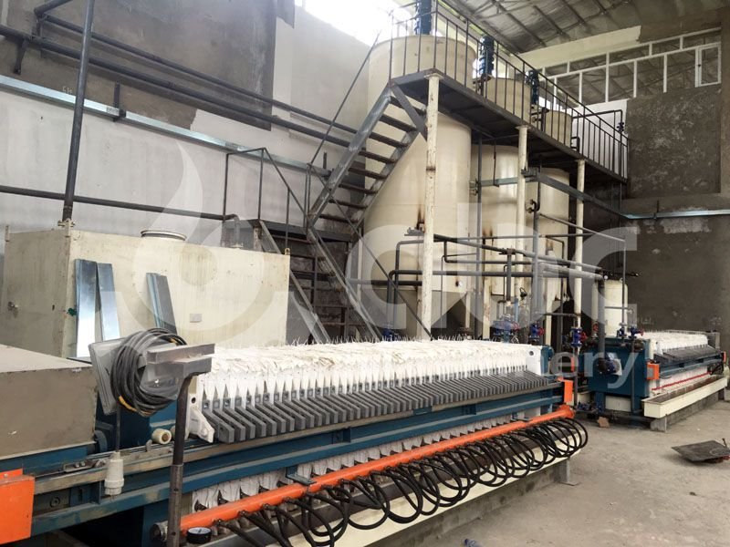 cotton oil refining factory for small to medium scale production line