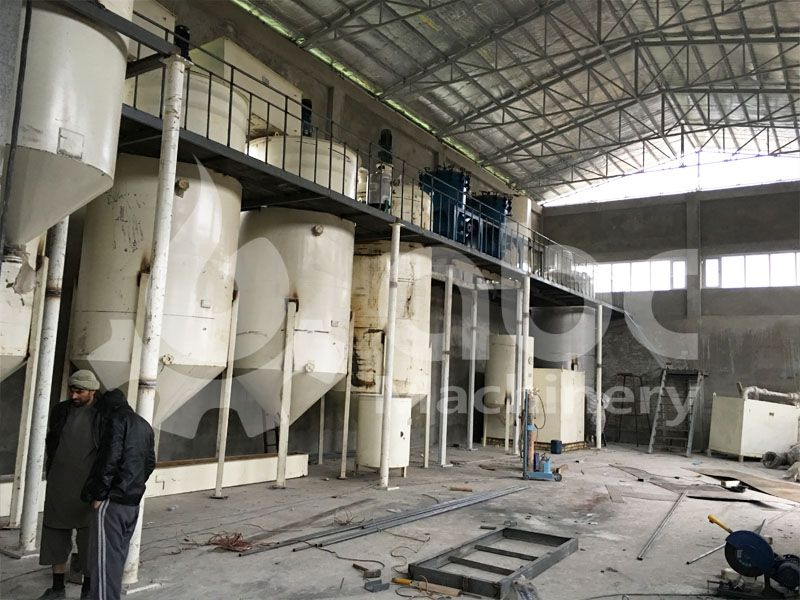 cotton seed oil refinery plant for sale low cost