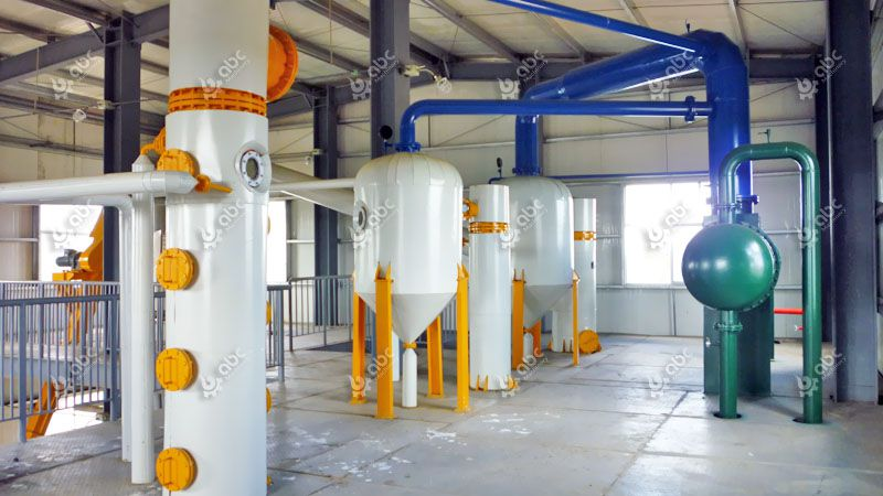 cottonseed oil extraction plant