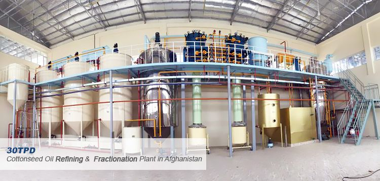 cottonseed oil refining and fractionation machine