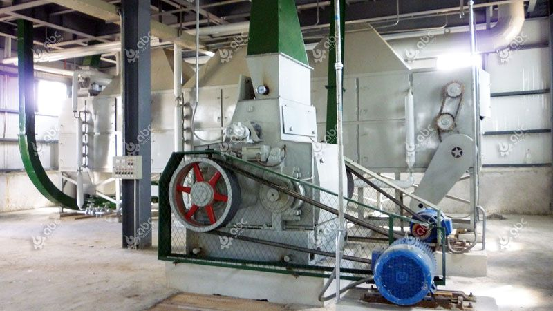 cottonseed processing machine