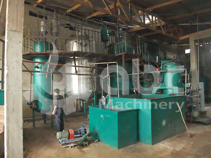 crude oil refining equipment set